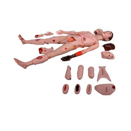 مانکن تروما زخم،سوختگی و سوانح (مولاژ تروما)