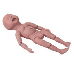 مولاژ نوزاد جهت آموزش های نگهداری و مراقبت از نوزاد