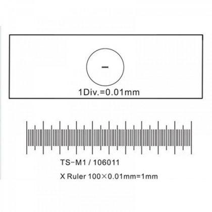 لام میکرومتر خطی 0.01mm (لام مدرج)