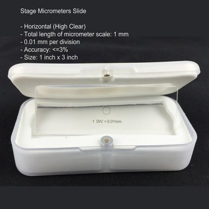 لام میکرومتر خطی(لام مدرج)