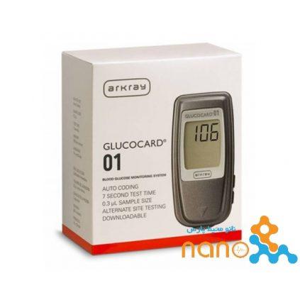 دستگاه تست قند خون آرکری مدل GLUCOCARD-01